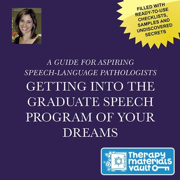 Getting Into The Graduate Speech Program Of Your Dreams