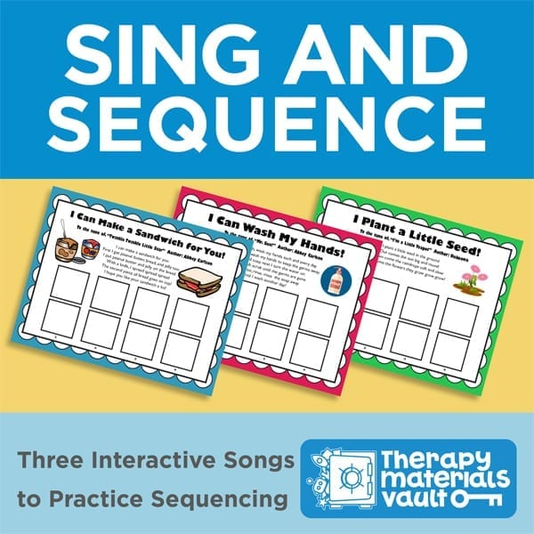 Sing and Sequence: Three Interactive Songs to Practice Sequencing
