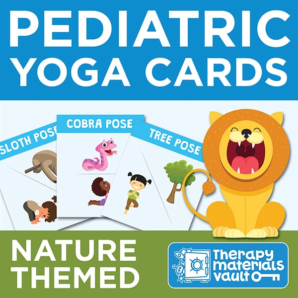 Pediatric Nature Yoga Cards