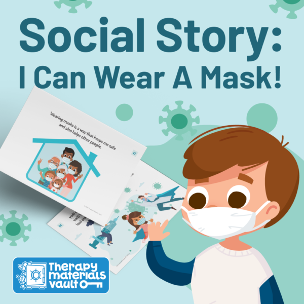 social story I can wear a mask