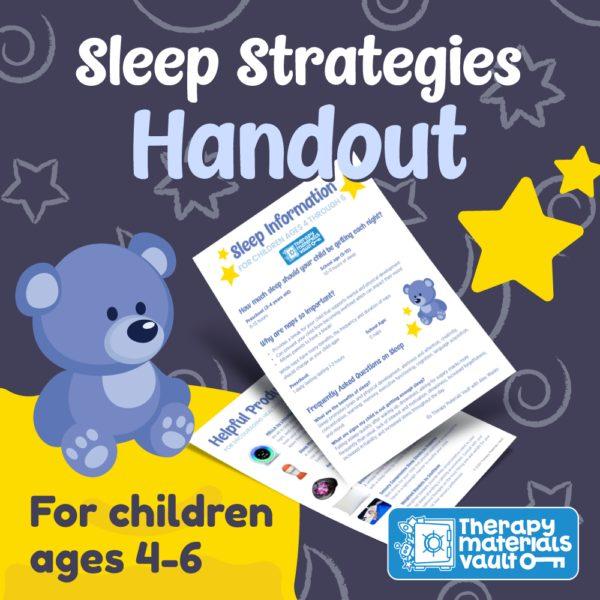 sleep strategies ages 4-6