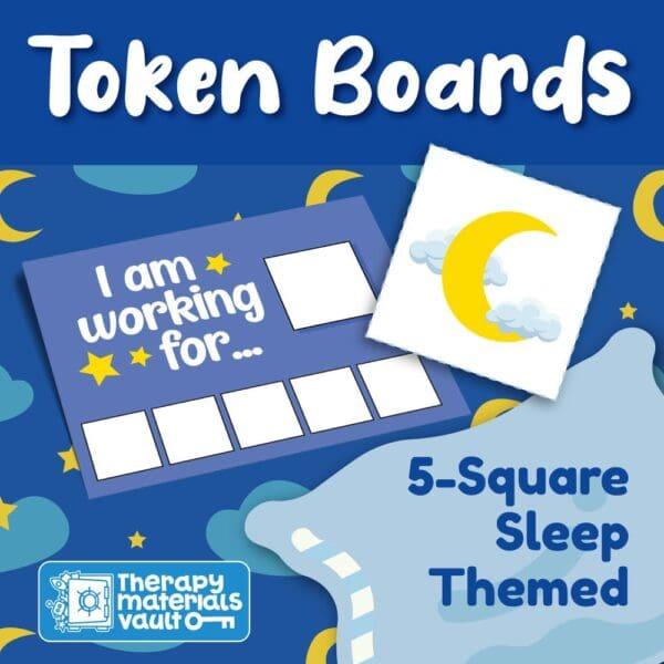 token board sleep theme