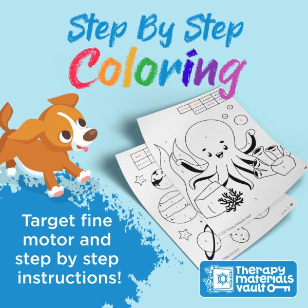 Coloring Activity Fine Motor