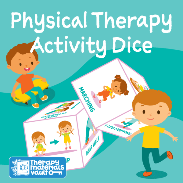 physical therapy activity dice