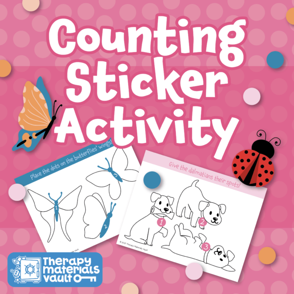 Counting sticker activity