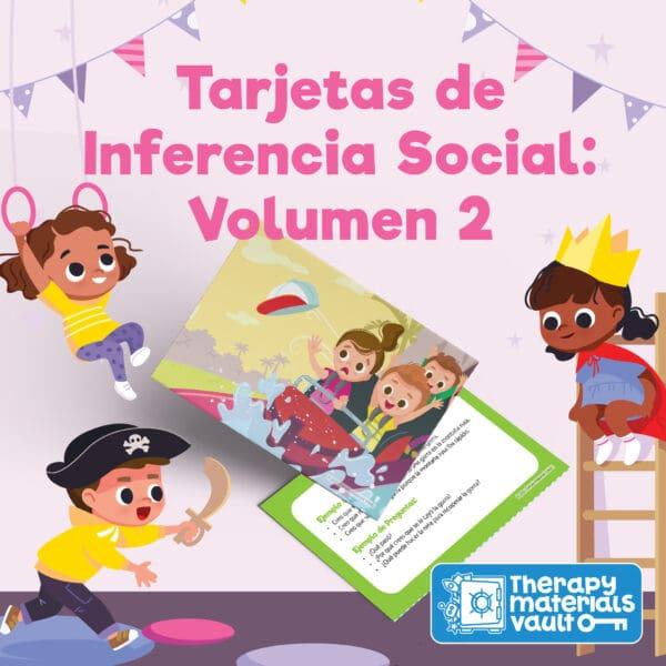 Tarjetas de Inferencia Social: Volumen 2 (Social Inference Cards Spanish: Volume 2)