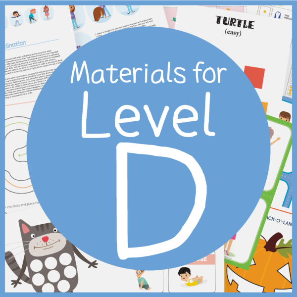 Foundations of Handwriting Materials fine motor for ages 5