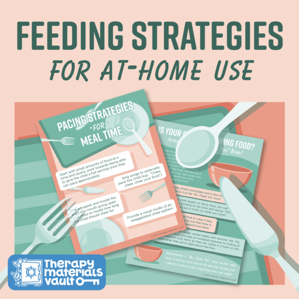 Feeding Strategies for At-Home Use Feeding Therapy parent handout