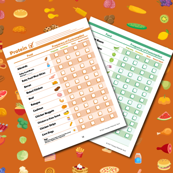 Food Inventory for Feeding Therapy