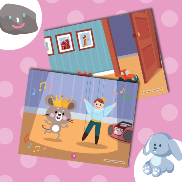 Wordless Picture Book (R Articulation)